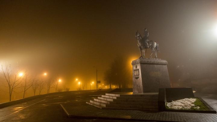 Волгоград и Волжский накрыли дождь со снегом