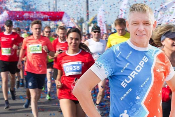 Андрей Уткин рассчитывал, что марафон пройдет