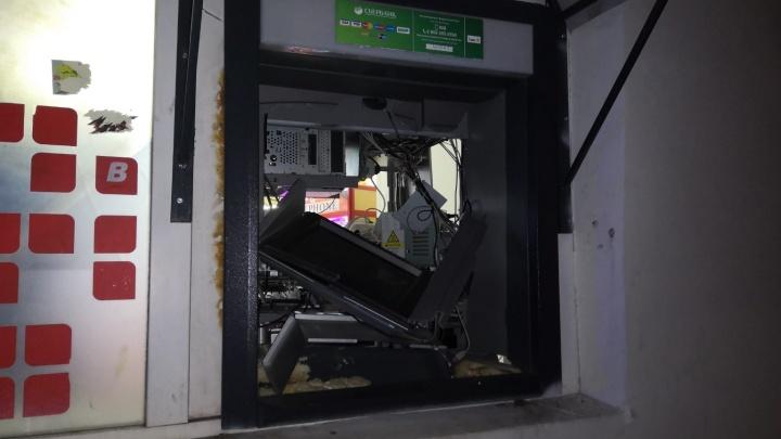 В Свердловской области грабитель взорвал банкомат «Сбербанка»