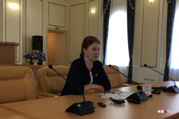 Лариса Кокорина возглавляла Департамент здравоохранения с 2015 года