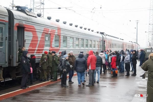 Поезда планируют снова запустить к концу декабря