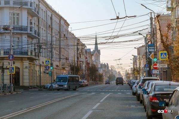 Под защиту попала и улица Куйбышева