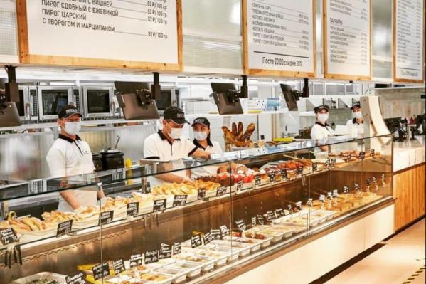 Новая кафе-лавка находится между «Робеком» и «Сбером», в самом сердце Юго-Западного микрорайона