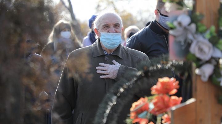 «Екатеринбург, Москва, Уфа с вами!»: в Волгограде похоронили убитого Мелконяном Романа Гребенюка