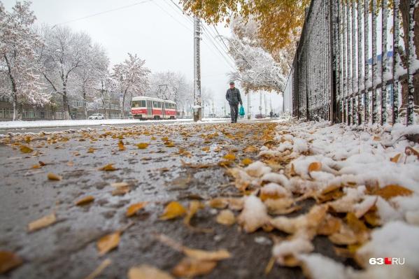 Синоптики ожидают мокрый снег