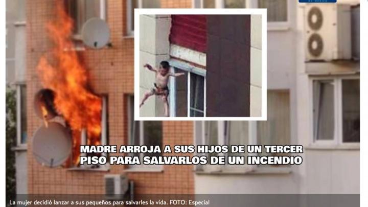 В Мексике написали о новосибирском пожаре, во время которого мать выкинула детей с третьего этажа