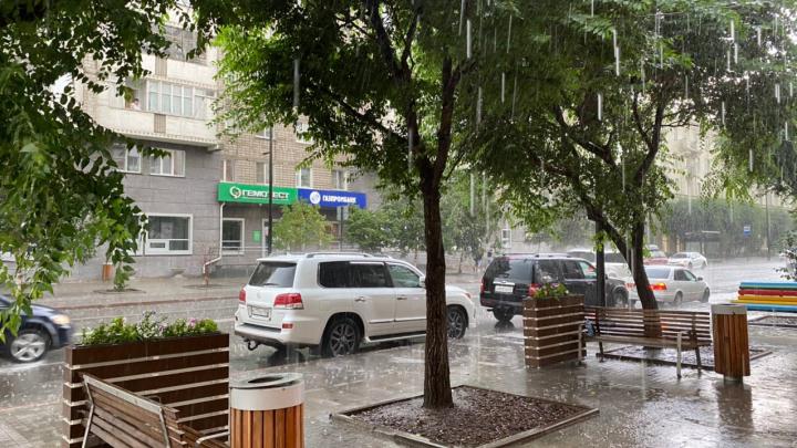 Красноярск ожидает пасмурная и дождливая рабочая неделя
