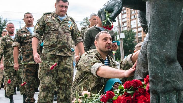 Синева над Самарой: десантники отметили День ВДВ