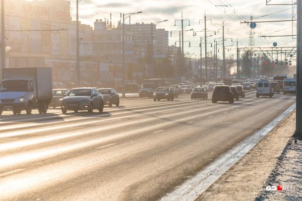 Вот так сейчас выглядит Московское шоссе