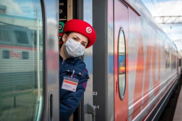 Последний поезд в Новосибирск отправится из Омска завтра, 14 апреля
