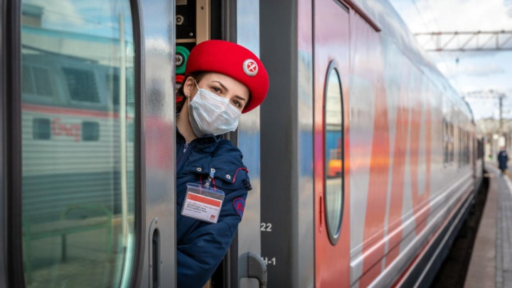 В Омске из-за коронавируса отменили фирменный поезд «Иртыш»