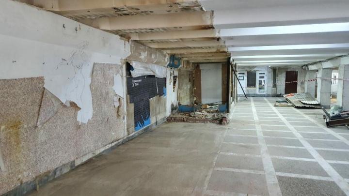 Подземный переход в центре Челябинска пообещали отремонтировать до зимы