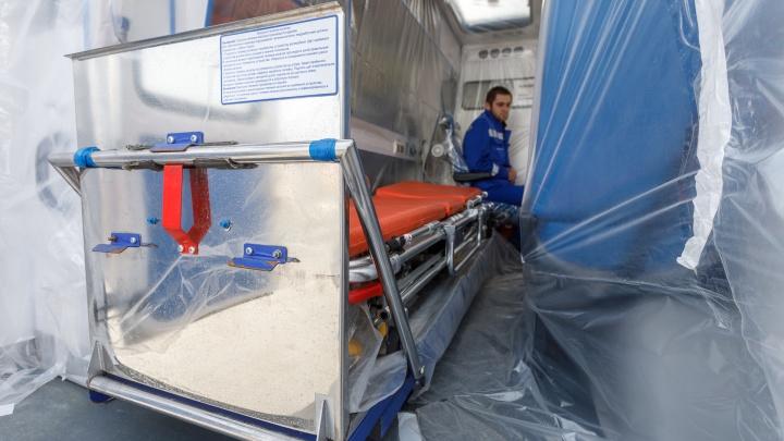 В Тюмени от коронавируса умерла 59-летняя женщина