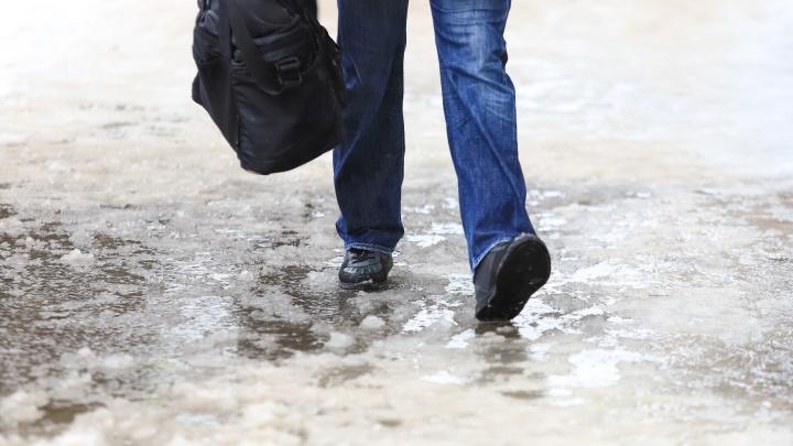 МЧС предупредило жителей Дона о гололедице и тумане