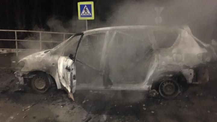 Появилось видео и фото с места задержания террориста на трассе под Уфой