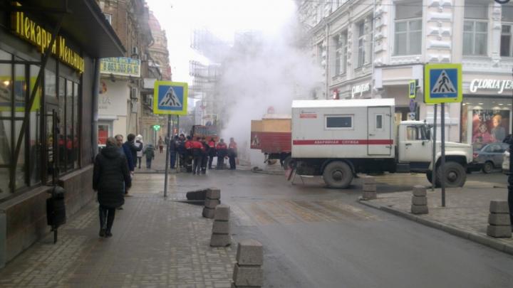 В центре Ростова сотни жителей остались без тепла