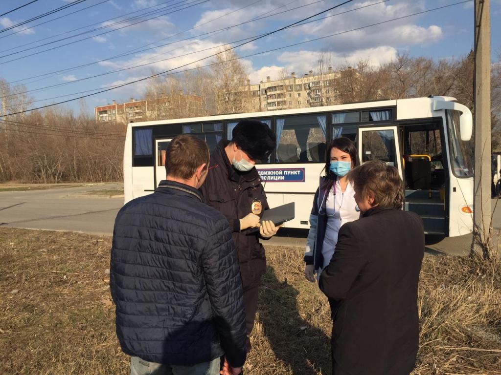 Полиция сегодня работает в разных районах Челябинска