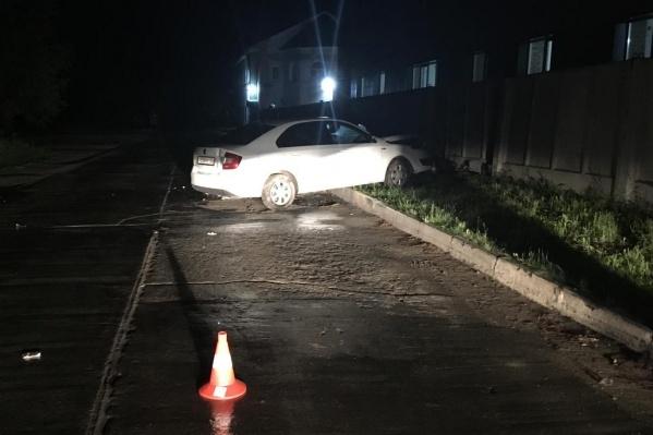 Авария случилась в 00:05 в Советском районе Новосибирска
