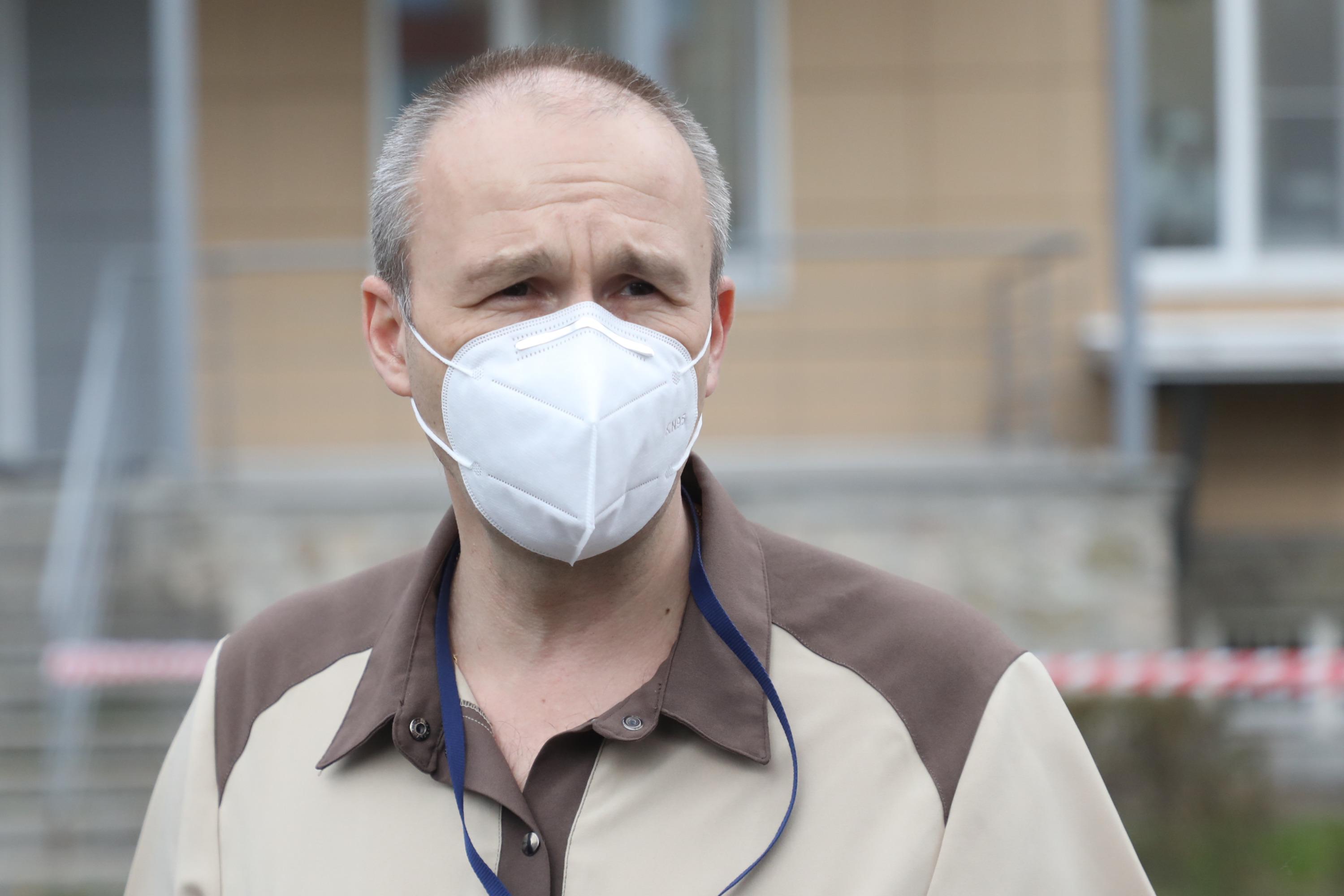 главный специалист по анестезиологии и реаниматологии ГБ №40 Евгений Гарбузов