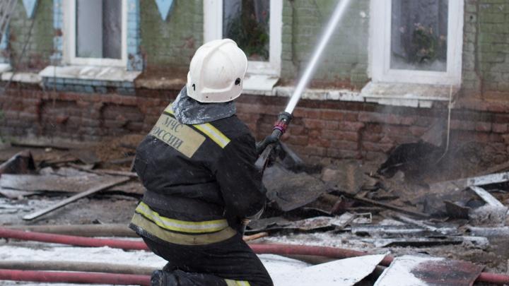 Четырёхлетний ребёнок получил ожоги при пожаре в Кемерово
