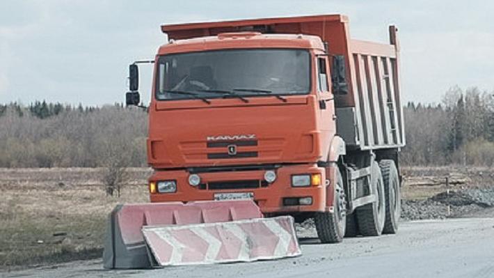 На федеральной трассе в Нытвенском районе ограничили движение грузовиков