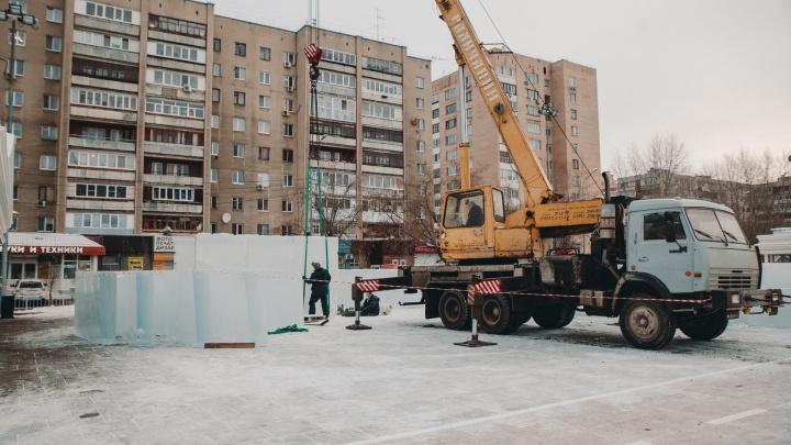 В Тюмени построят два ледовых городка. Рассказываем зачем
