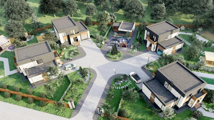 В Новосибирске появился новый вид недвижимости — микропоселок