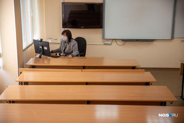 Учиться на дистанционке школьникам придется практически до конца ноября