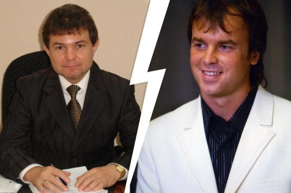 Юрий Мельников (слева) и Сергей Княжев (справа) были бизнес-партнерами и друзьями
