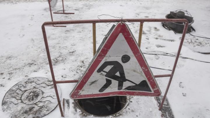 Ремонт теплотрассы на Обводном канале в Архангельске завершается 3 марта