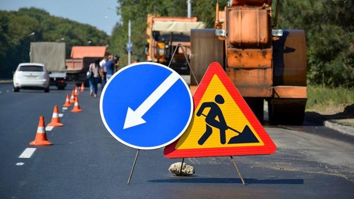 В Зауралье на федеральных трассах начались ремонты дорожного полотна