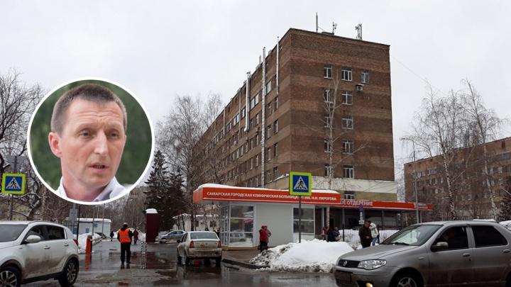 Главврач больницы Пирогова попал под наблюдение из-за коронавируса