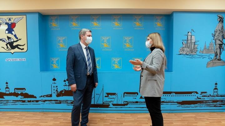 «Городу нужны мужественные люди»: интервью 29.RU c главой про новые кадры и старые беды Архангельска