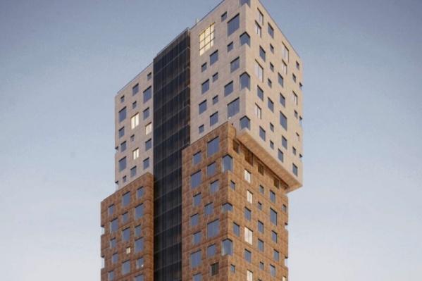 Высотка «вырастет» на 24 этажа над землей