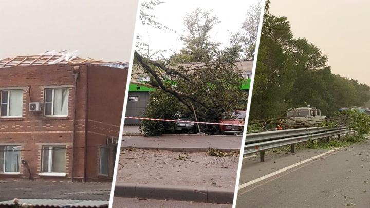 Унесла крышу, повалила деревья, убила двоих: что натворила буря на Дону