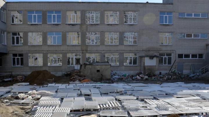 Власти Кургана проверили, как идёт ремонт в проблемной школе № 11
