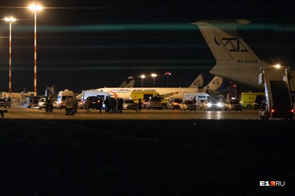 За прошедшие полторы недели «Уральские авиалинии» совершили уже три вывозных рейса в Екатеринбург