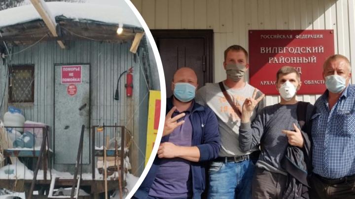 Прокуратура попросила суд пересмотреть дело о нападении активистов Шиеса на экскаваторщика