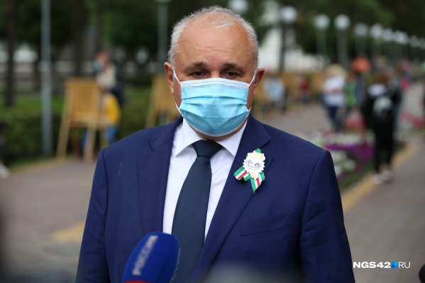 Весь день 30 августа губернатор провел в Белово — столице Дня шахтера