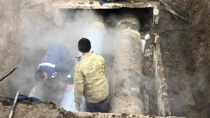 Два дома в центре Ростова остались без отопления в самую холодную ночь осени