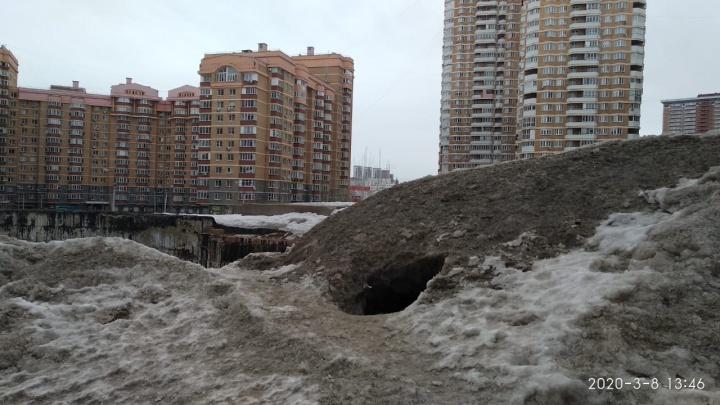 Дети подземелья: в Уфе обнаружили место обитания бездомных