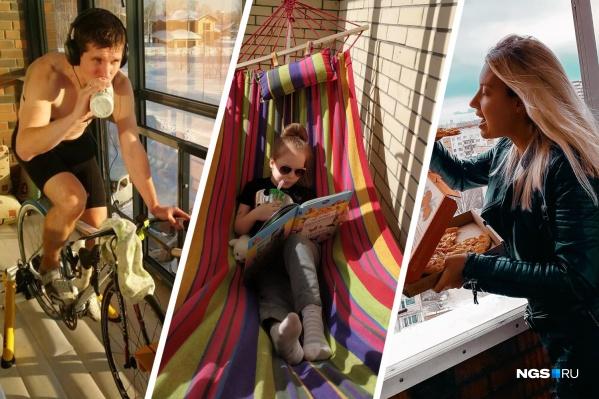 Выбираем лучшее фото самого стильного и творческого балкона