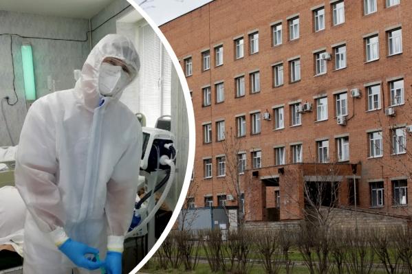Даниил Буров пришел работать в COVID-госпиталь в самом начале пандемии коронавируса