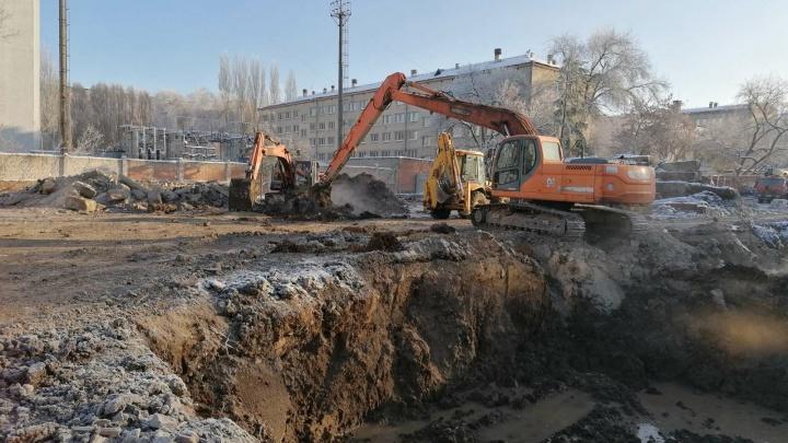 В Самаре на улице Подшипниковой начали строить детский сад