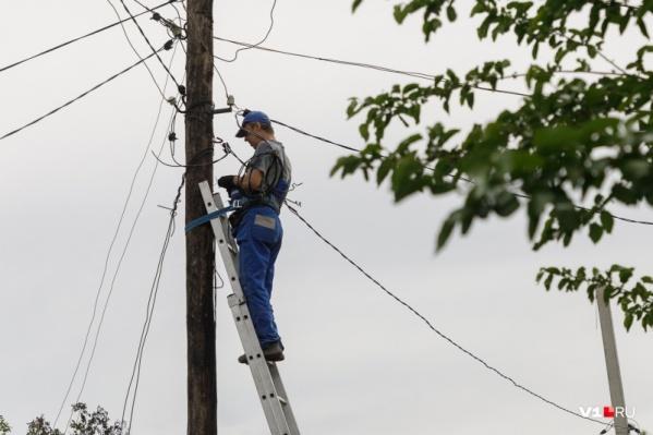 Рабочие проведут плановый ремонт сетей
