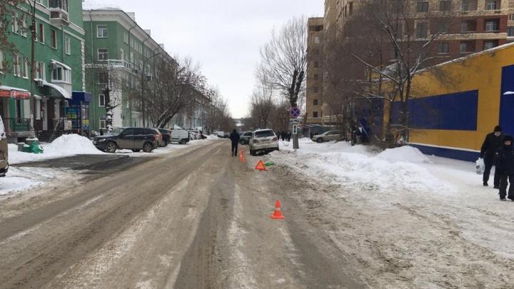 На Котовского водитель «Тойоты» сбил женщину с 15-летней дочерью