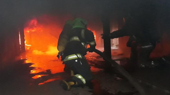В Архангельской области появился уникальный тренажер для обучения пожарных