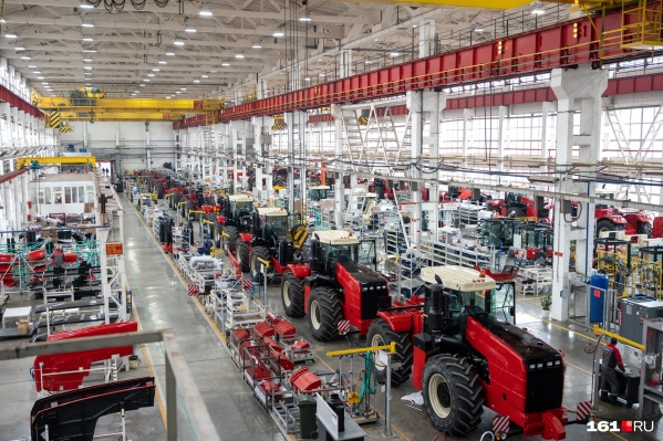 Так выглядит нынешний тракторный цех «Ростсельмаша»
