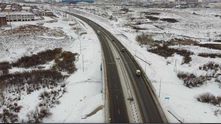 Завершены все работы на новой развязке на трассе у Солонцов
