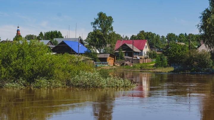 Паводок в Прикамье достиг рекордных значений за всю историю наблюдений